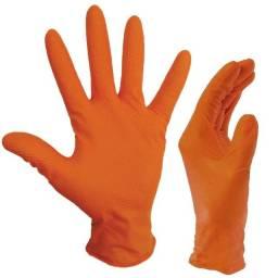 Luva nitrílica, tamanho G, Orange Ignite,