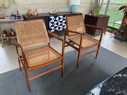 Cadeira Oscar - réplicas de Sérgio Rodrigues