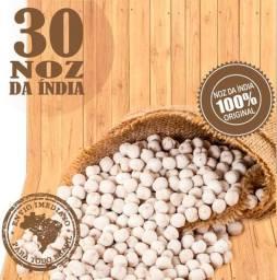 Semente Natural Noz da India com 30 Unidades