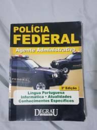 Apostila para concurso de Agente Administrativo da Polícia Federal