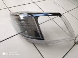 Título do anúncio: Par lente com acabamento farol Hilux 12/15