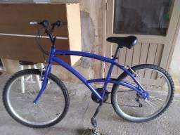 Bicicleta caloi 100 azul com marcha