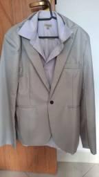 Blazer casual com camisa