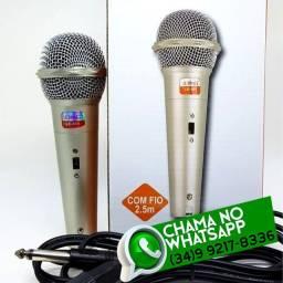 Microfone Com Fio * Fazemos Entregas