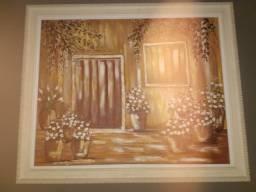 Título do anúncio: Vendo quadro pintado a mão