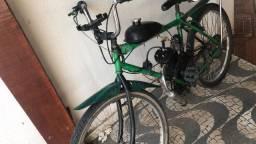 Vendo bicicleta motorizada em 12x no cartão