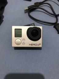 GoPro Hero3Plus + Câmera Digital Sony