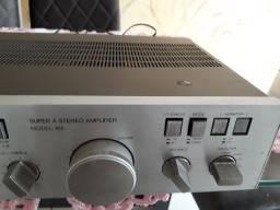 Amplificador Gradiente M-166 Ótima qualidade de som