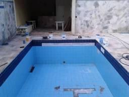 Reforma e limpeza de piscina local Aquidauana ms