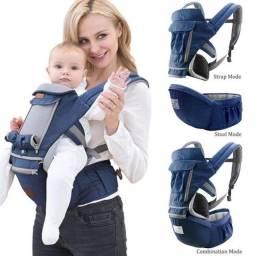 Canguru Ergonômico bebê com 12 Posições Carregador De Bebê 0 -36 Meses