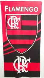 Toalha de banho  Flamengo e Sampaio