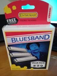 Kit 3 gaitas BluesBand