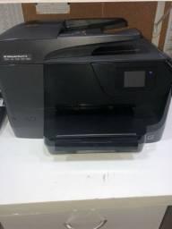 Vendo impressora multifuncional HP Officejet Pro 8710 usada