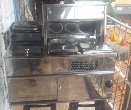 Maquina de cachorro quente para carro hatch