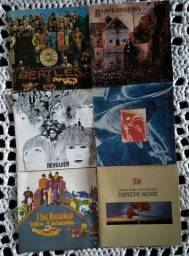 6 Encartes de CD's de rock
