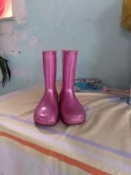 Bota de chuva infantil  Num 34