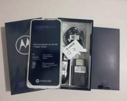 V/T Moto One Fusion Plus Branco 128GB Zerooo