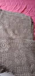 Colcha de crochê de nylon