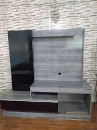 Rack (estante de televisão) com painel
