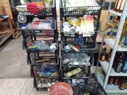 Vendo itens de depósito de material de construção mais 1 painel canaleta 0