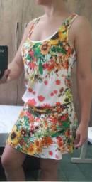 Vestido Verão Floral