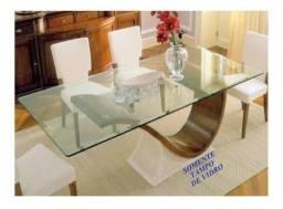 Vendo tampo de mesa de vidro