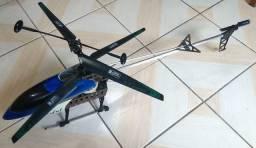 Helicóptero RC Powerfull QS 8005 GT Model (usado, controle com defeito)