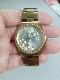 Belo relógio feminino Technos dourado original!