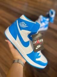 Atacado Tênis Botinha Nike Air Jordan Estilosa Confortável