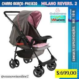 Carrinho de bebê Milano entrega Goiânia e aparecida