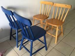Cadeiras Originais Tok Stok Texas como Novas