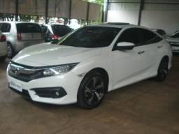 Honda / Civic 1.5 Touring 2017 Branco (Turbo)