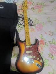 Stratocaster Woodstock sem detalhe