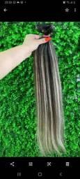 Mega - Faixa de cabelo humano
