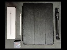 Ipad Pro 12.9 Pol A1671 (Segunda Geração) com 256Gb Wifi+4G com Pelicula + Caneta Apple