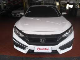 Honda Civic G10 - 2017 - 2.0 GNV Auto - Branco