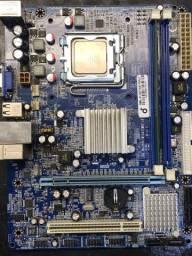 Kit Placa mãe DDR3 4GB