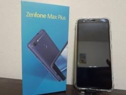 Smartphone Zenfone Max Plus M1 com todos os acessórios + 2 capinhas