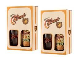 02 kits Cerveja Colorado Appia 600ml c/ Copo