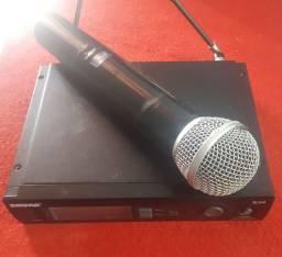 Vendo ou troco por celular Microfone sem fio proficional  shure