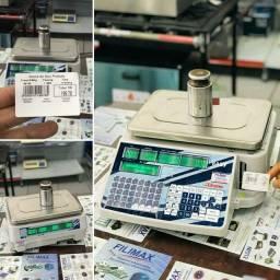 Balança 31 Kg com Wifi   Impressora