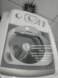 Electrolux 15.KG Semi Nova/1 Ano De Garantia/Entrego