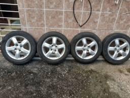 Título do anúncio: Pneu aro 15 4 pneus novos valor 1.300