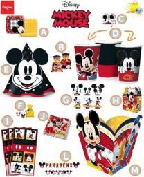 Kit para festa Mickey Clássico - 14 itens