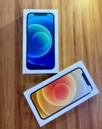 Iphone 12 128GB Azul ou Branco - Novo - Lacrado com NF