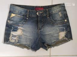 Short Jeans oppinus tam 38 R$25,00
