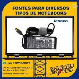 Carregador do Notebook Lenovo Ponta Grossa com Garantia