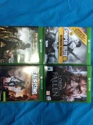 Jogos variados Xbox one