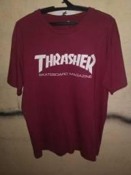 camiseta thrasher vinho