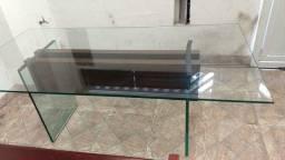 Tampo de vidro temperado 2,00m x 1,00m x 0,06m
